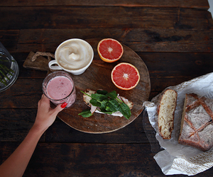 breakfast, food, and smoothie image