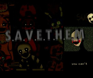 puppet and five nights at freddy's image