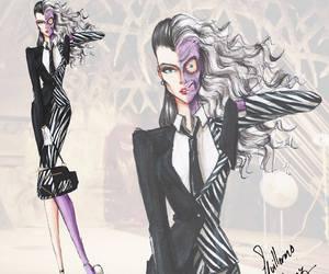 villain, batman, and fashion image