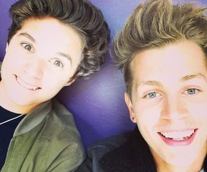 brad simpson, the vamps, and james mcvey image