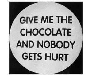 chocolate, funny, and hurt image