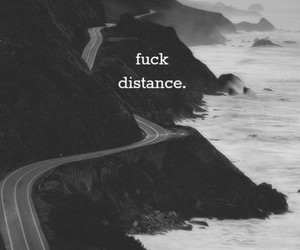 beautiful, black & white, and distance image