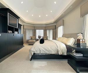 bedroom, interior, and luxury image