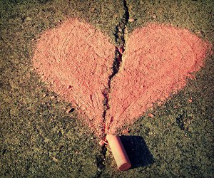 heart, love, and pink image
