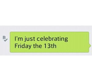 friday the 13th, Valentine's Day, and forever alone image