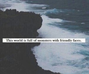 monster, grunge, and quote image