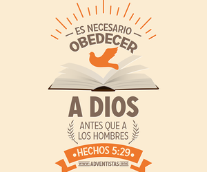 dios, hombres, and obediência image
