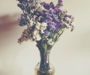 flowers, purple, and indie image