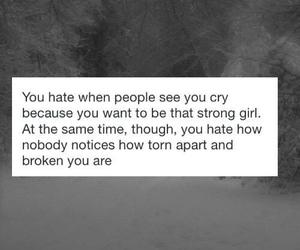 cry, life, and sad image