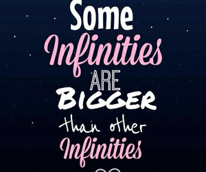 infinity, quotes, and tfios image