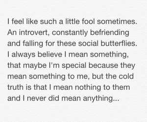 believe, butterfly, and fool image