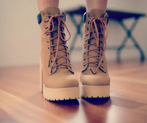 boot, love, and fashion image