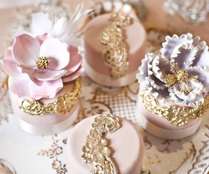cupcake, cake, and pink image