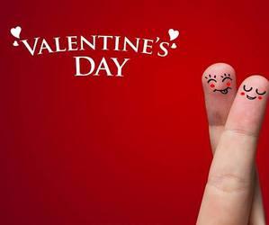 valentine, red, and Valentine's Day image