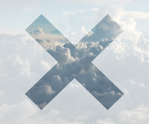 clouds, sky, and x image