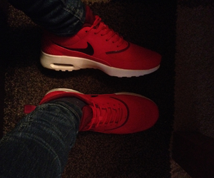 liebe, nike, and rot image
