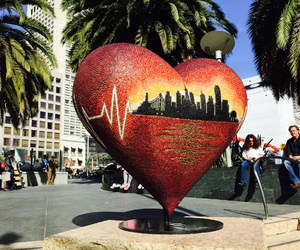 heart, art, and city image