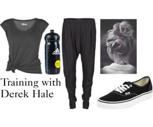 teen wolf and derek hale image