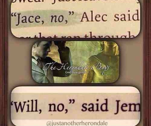 jace, will, and herondale image