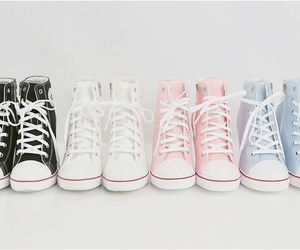 converse, shoes, and pastel image