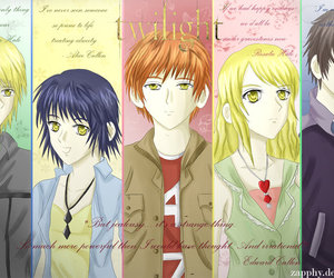 alice cullen, anime, and edward cullen image