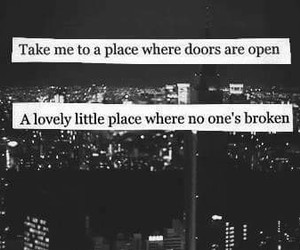 lovely, where?, and place image