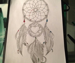 dream catcher and feather image