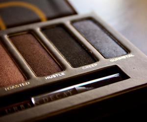 brown, makeup, and urban decay image