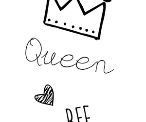 Queen, bee, and background image
