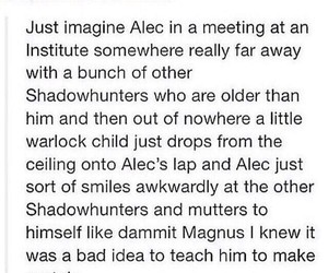 alec, love, and alec lightwood image