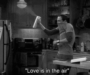 love, air, and funny image