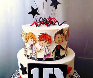 birthday, cake, and one direction image