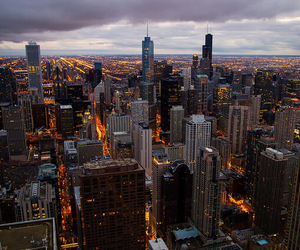 chicago, photography, and skyline image