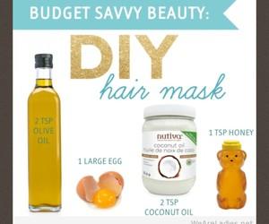 diy, hair, and beauty tips image