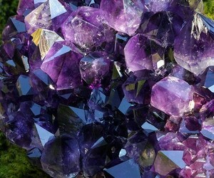 amethyst, beautiful, and crystal image