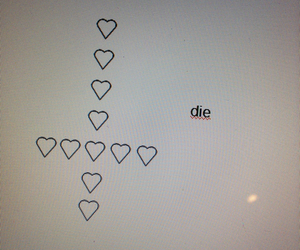 die and heart image