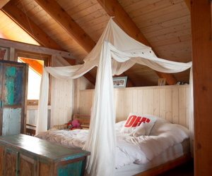 beach house, bohemian, and bedroom image