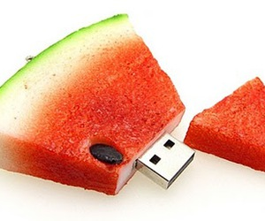 watermelon and usb image