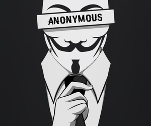 wallpapers, anonymus, and bitch! :3 image