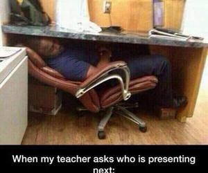 class, funny, and teacher image