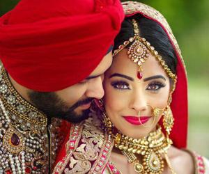 indian, sikh, and wedding image