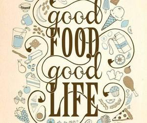 food, life, and good image