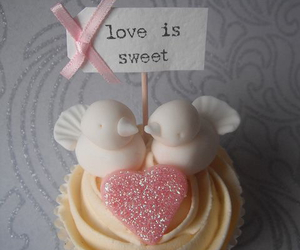 cupcake, love, and pink image