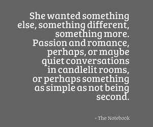 nicholas sparks, the notebook, and movie quotes image