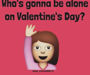 alone, valentine, and funny image