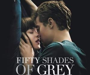 christian grey, kiss, and movie image