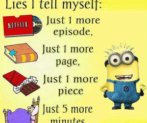 lies, minions, and book image