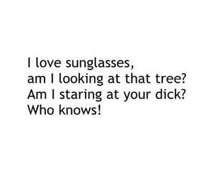 funny and sunglasses image