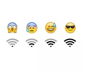 wifi, emoji, and funny image