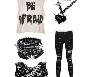 awesome, clothes, and black image